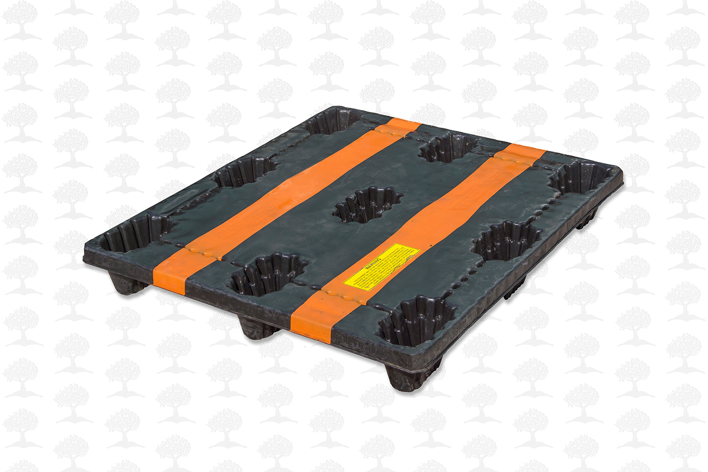 1200 x 1000 STD Nestable Plastic Pallet