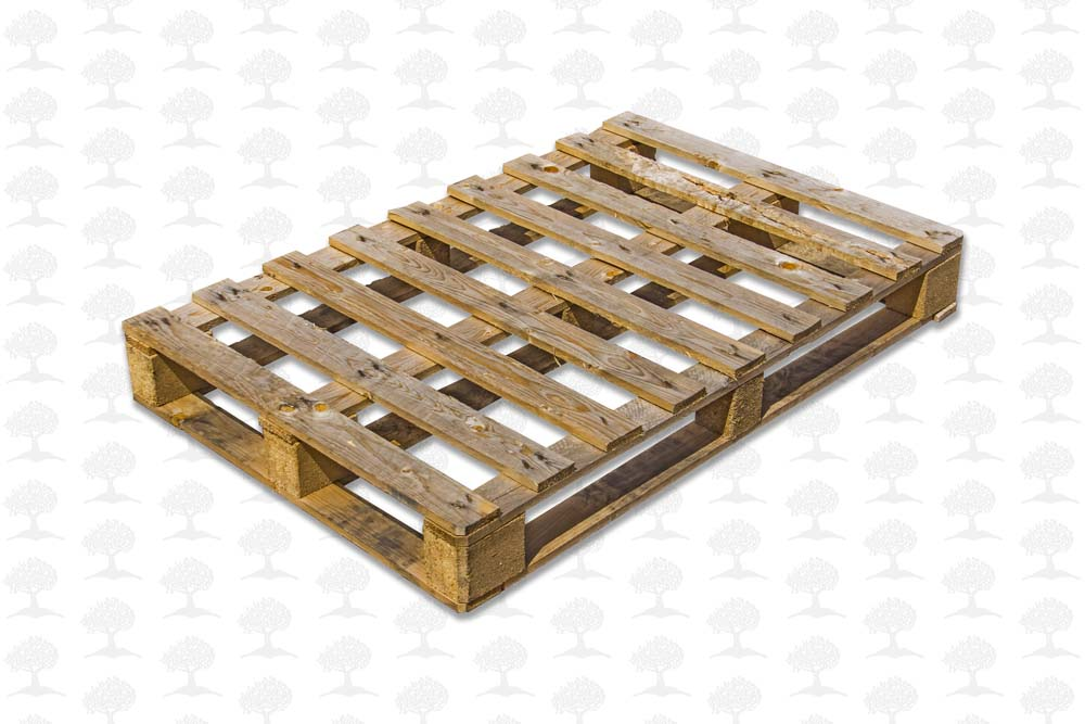 Perimeter Based short board Unstamped Euro - 1200 x 800 wooden pallets