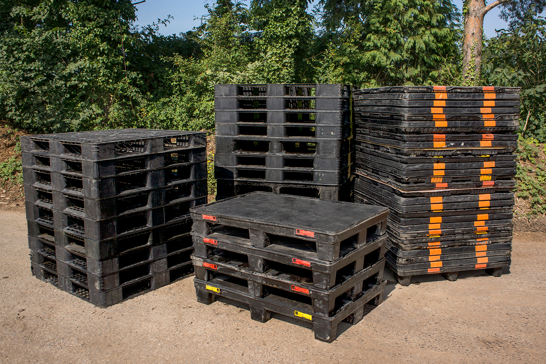 Plastic pallet variations